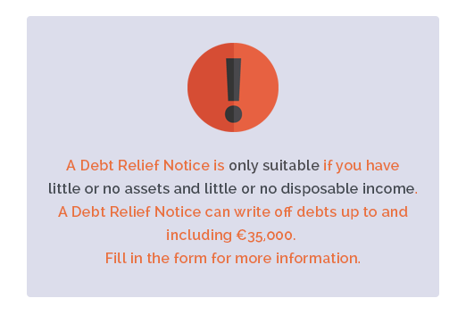 Debt Relief Notice